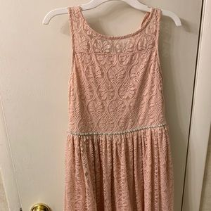 Reposh! Girls size 14 speechless blush dress